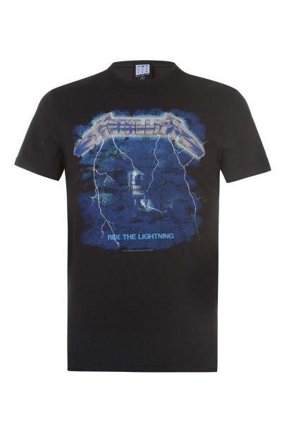 Amplified Clothing Metallica Mens T Shirt