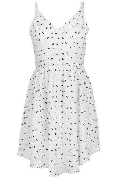 Glamorous Arrow Print Dress