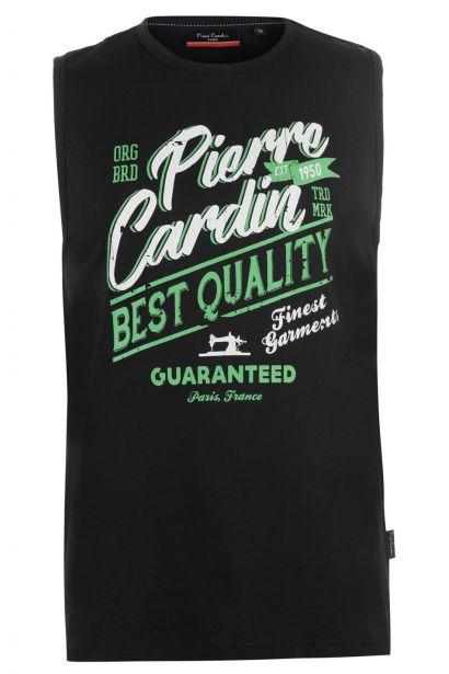 Pierre Cardin Graphic Vest Mens