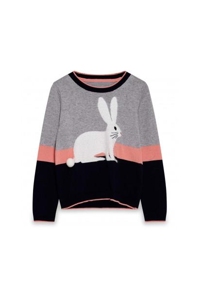 Yumi Girls Rabbit Jumper