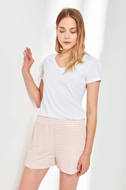Trendyol Powdered Knitted Shorts