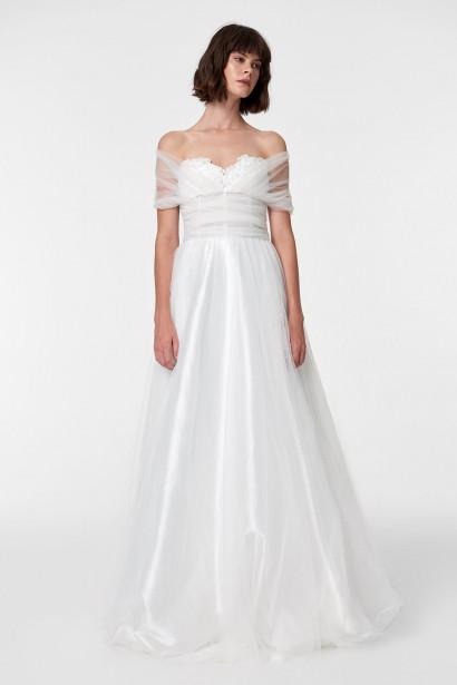 c8e5cd1d5440 Trendyol White Sparkle Wedding Dresses