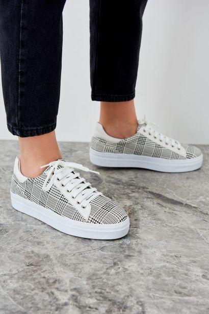 Trendyol Grey Women's Sneaker