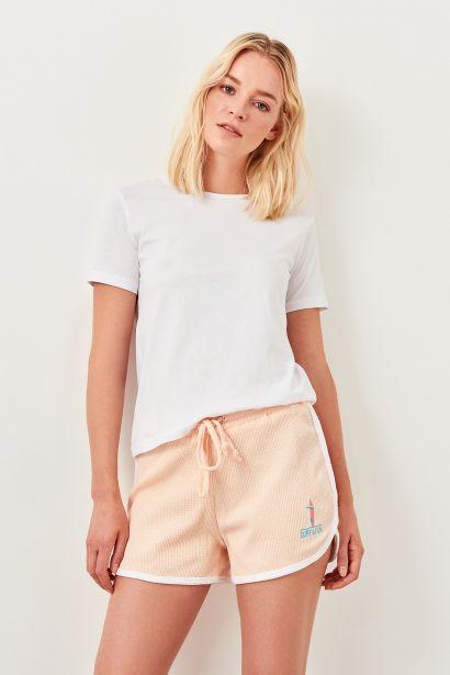 Trendyol Pink Basic Knitted Shorts