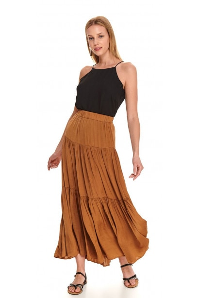 Women's Fashion Summer Casual Striped Maxi Bust Skirt Womens Slimming A Line Pleated Skirt | Wish