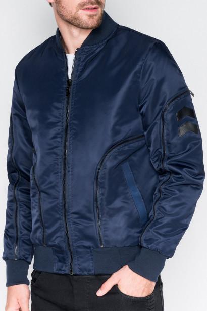 Ombre Clothing Men's mid-season bomber jacket C332