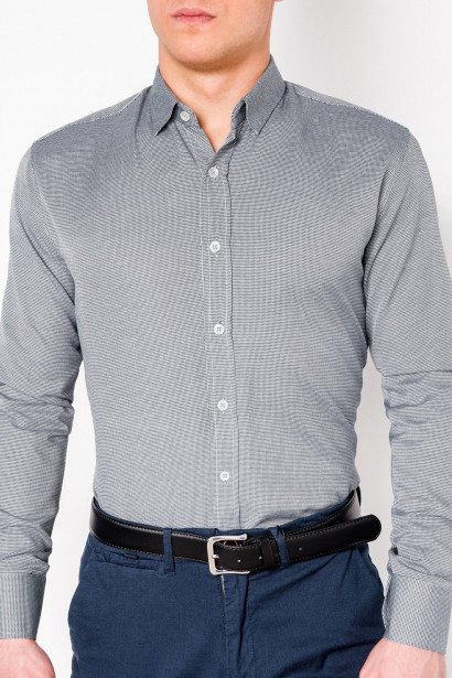 Ombre Clothing Men's elegant shirt with long sleeves K408