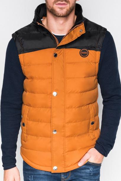 e05ec8de92 Ombre Clothing Men's quilted vest V26