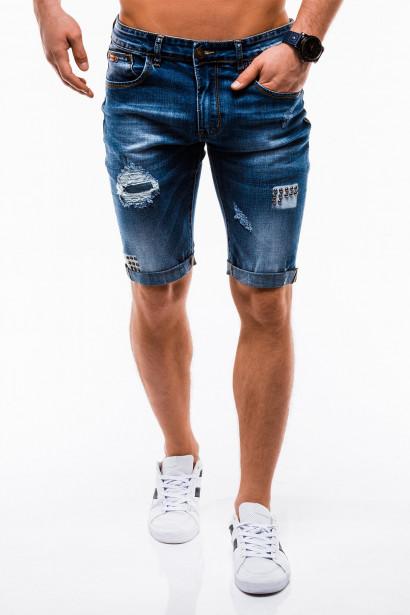 Ombre Clothing Men's denim shorts W124