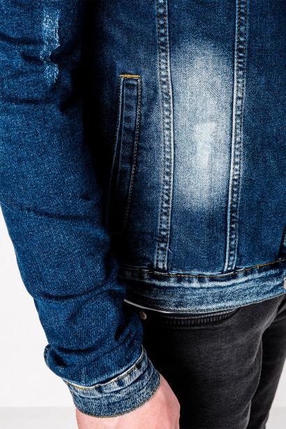 Inny Men's mid-season jeans jacket C345