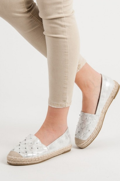 LUCKY SHOES ESPADRILLES WITH JETS