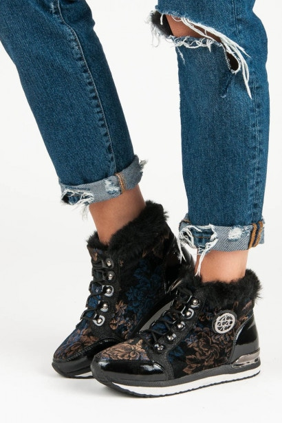 ACLYS FASHIONABLE LACE-UP SNEAKERS