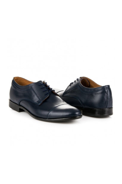 NAVY BLUE SHOES-ENGLISHWOMAN LUCCA