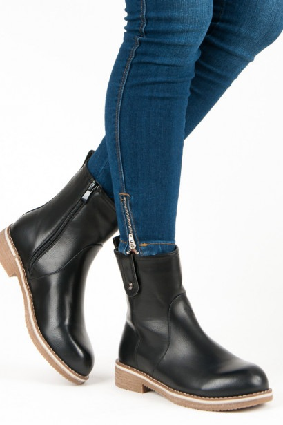 SUPER ME COMFORTABLE FLAT BOOTS HIGH HEELS
