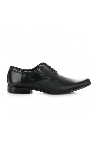 LUCCA LACE-UP LEATHER SHOES