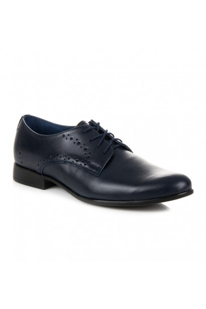 LUCCA NAVY BLUE SHOES