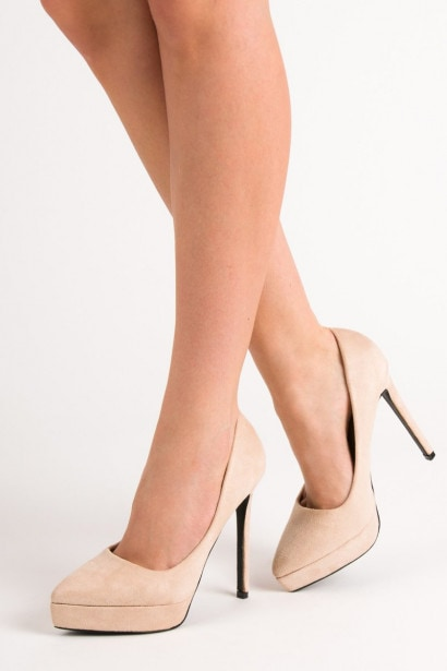 BESTELLE SUEDE HEELS ON