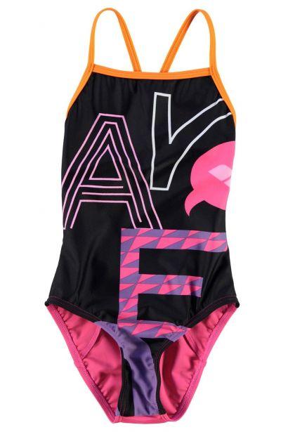 Arena Folk Swim Suit Junior Girls