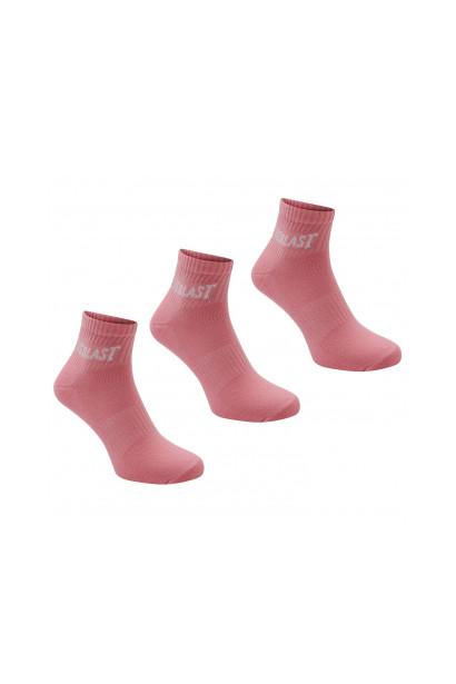 Everlast Quarter Socks 3 Pack Childrens