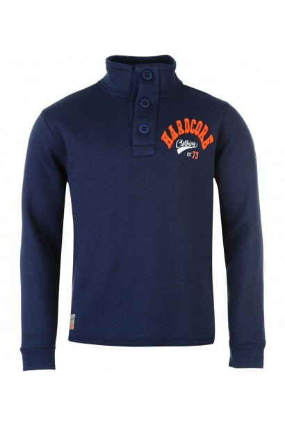 Hardcore Quarter Button Fleece Mens