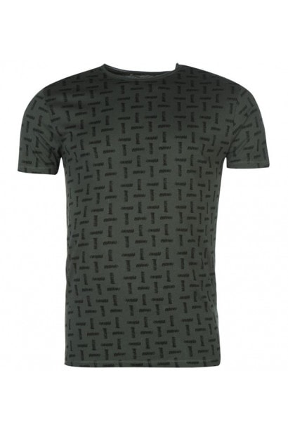 Only and Sons and Sons Komma All Over Print T Shirt Mens