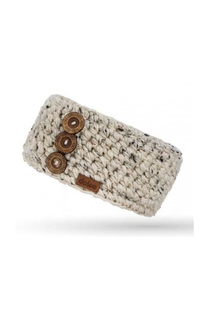 Crocheted headband DOKE HEADBAND