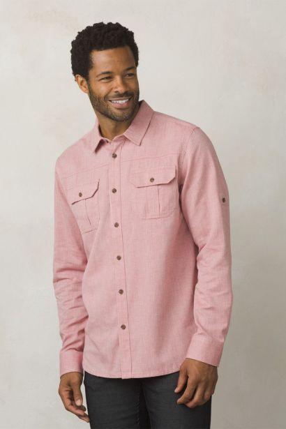 Men's shirt PRANA Cardston LS