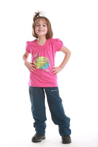 ALPINE PRO SILVA children's T-shirt 2