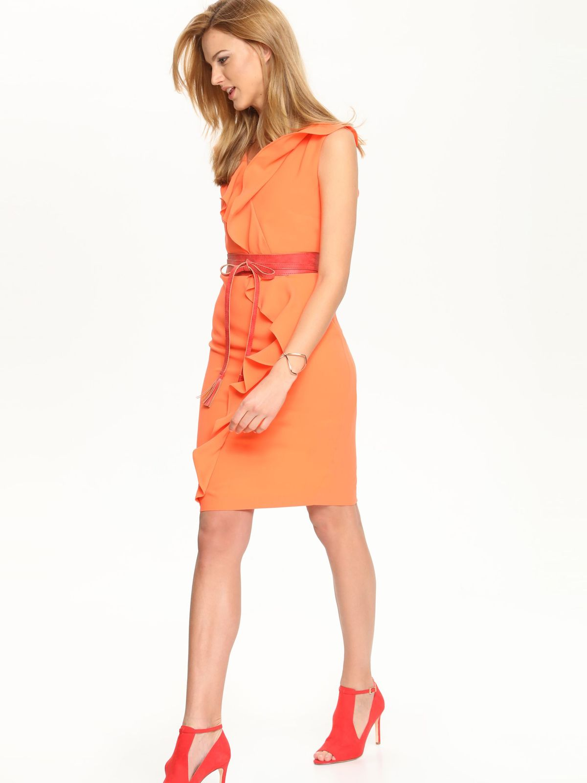 Top Secret dámske šaty s volánom
