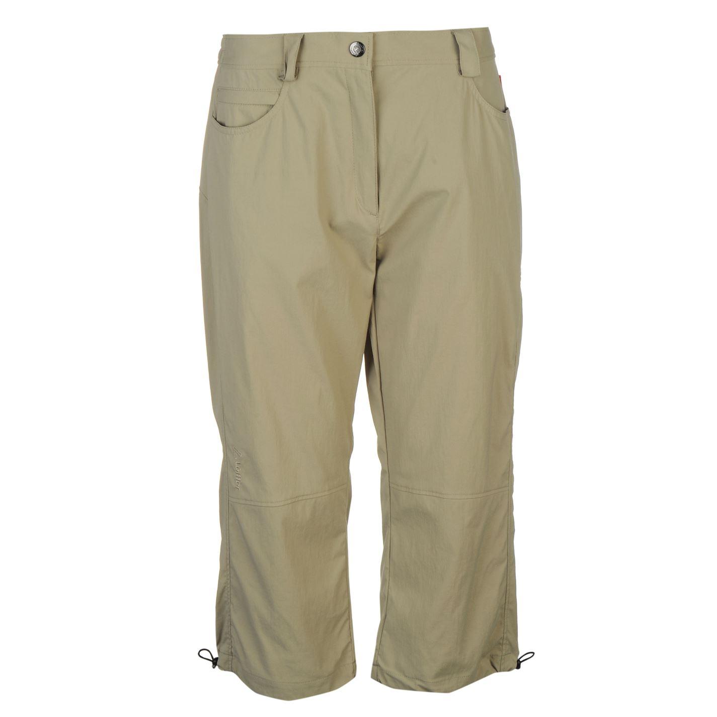 Löffler Three Quarter Outdoor Trousers Ladies