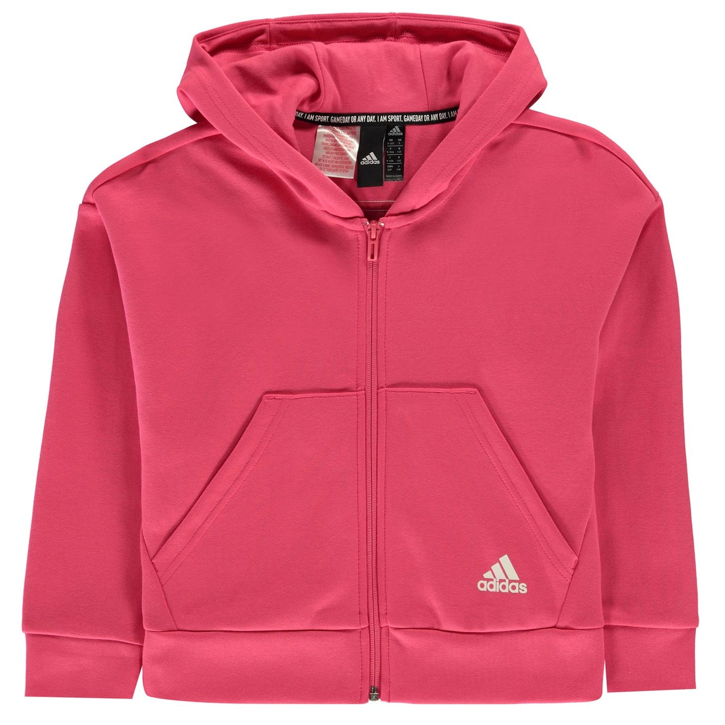 Adidas Full Zip Hoodie Junior Girls