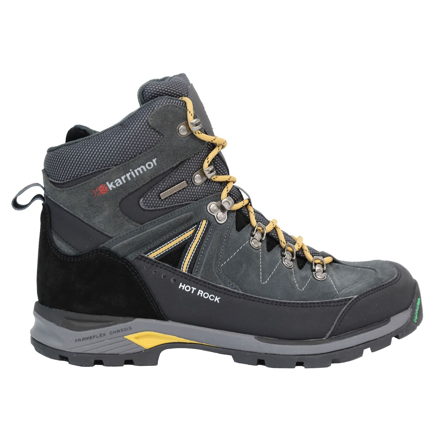 Karrimor Mens Merlin Walking Boots Lace Up Padded Ankle Collar