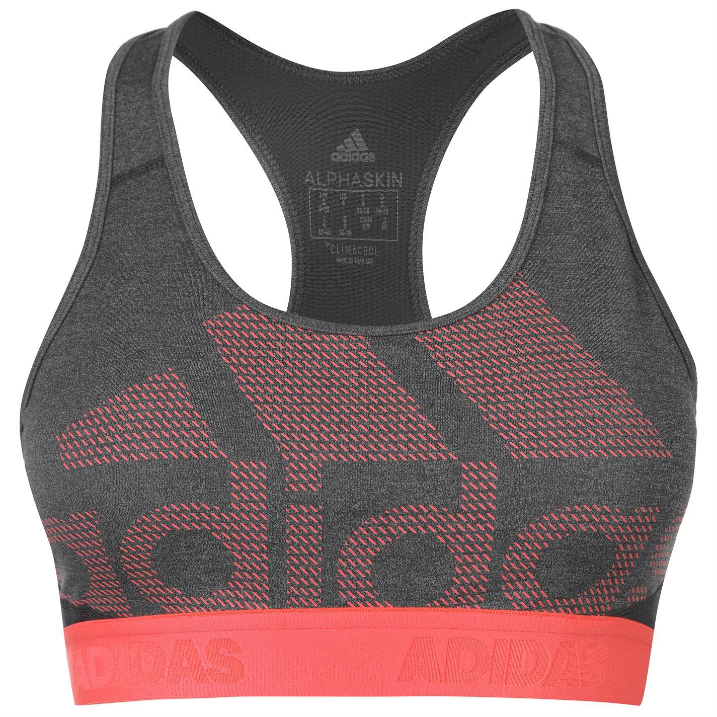 Adidas Alphaskin Logo Bra Ladies