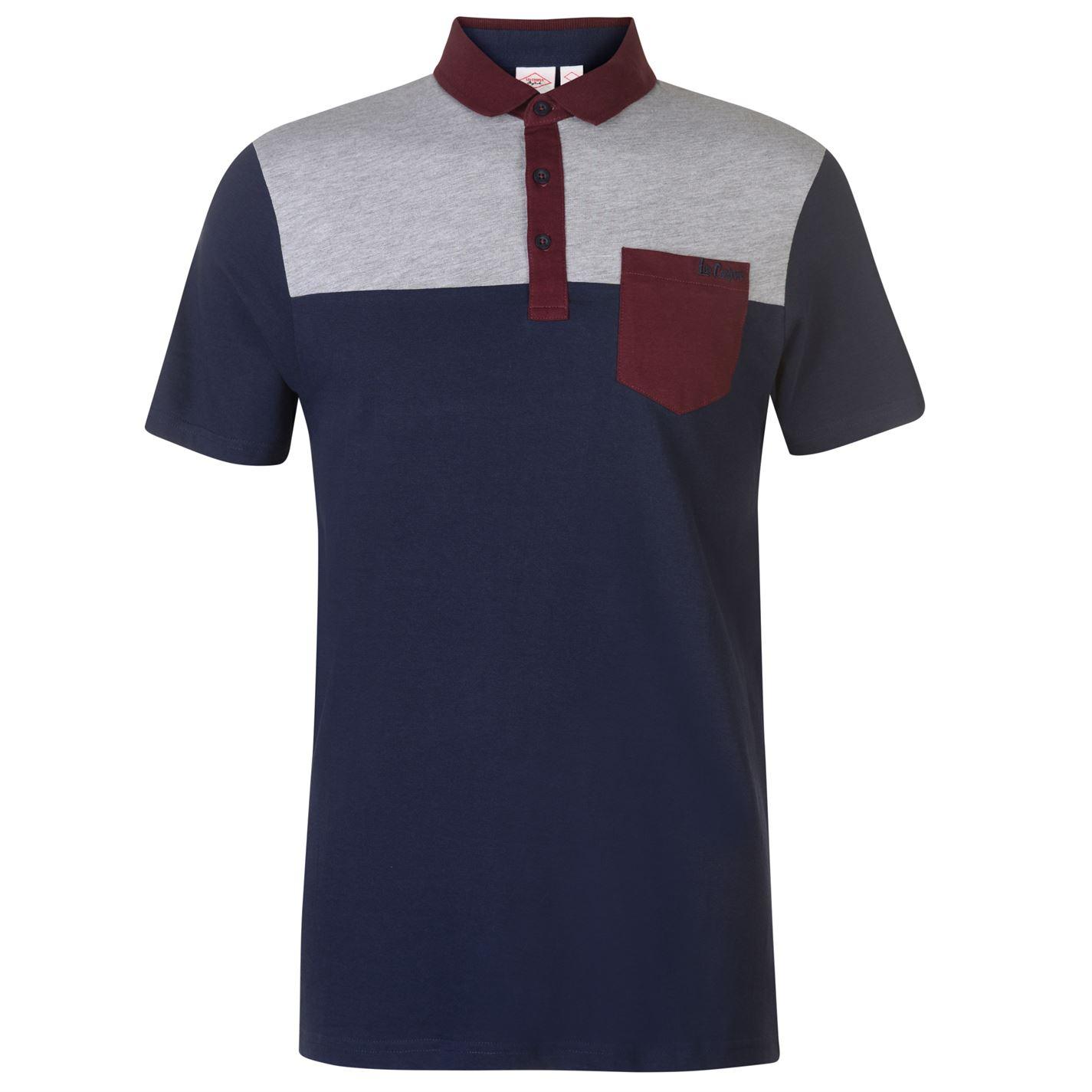 Lee Cooper Polo Shirt Mens