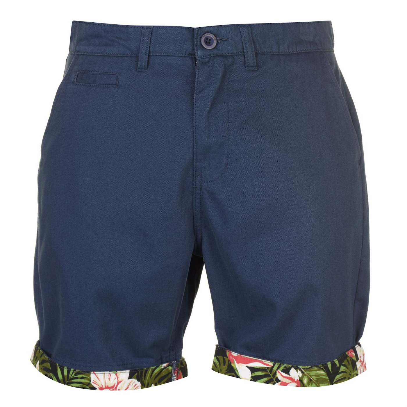 Pierre Cardin AOP Turn Up Shorts Mens