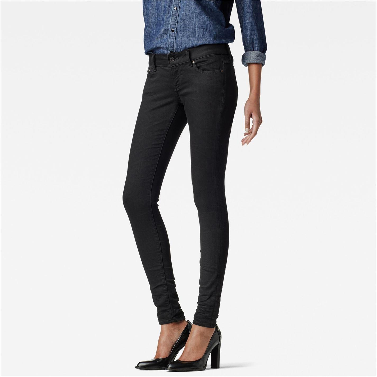 G Star Star 3301 Low Skinny Womens Jeans