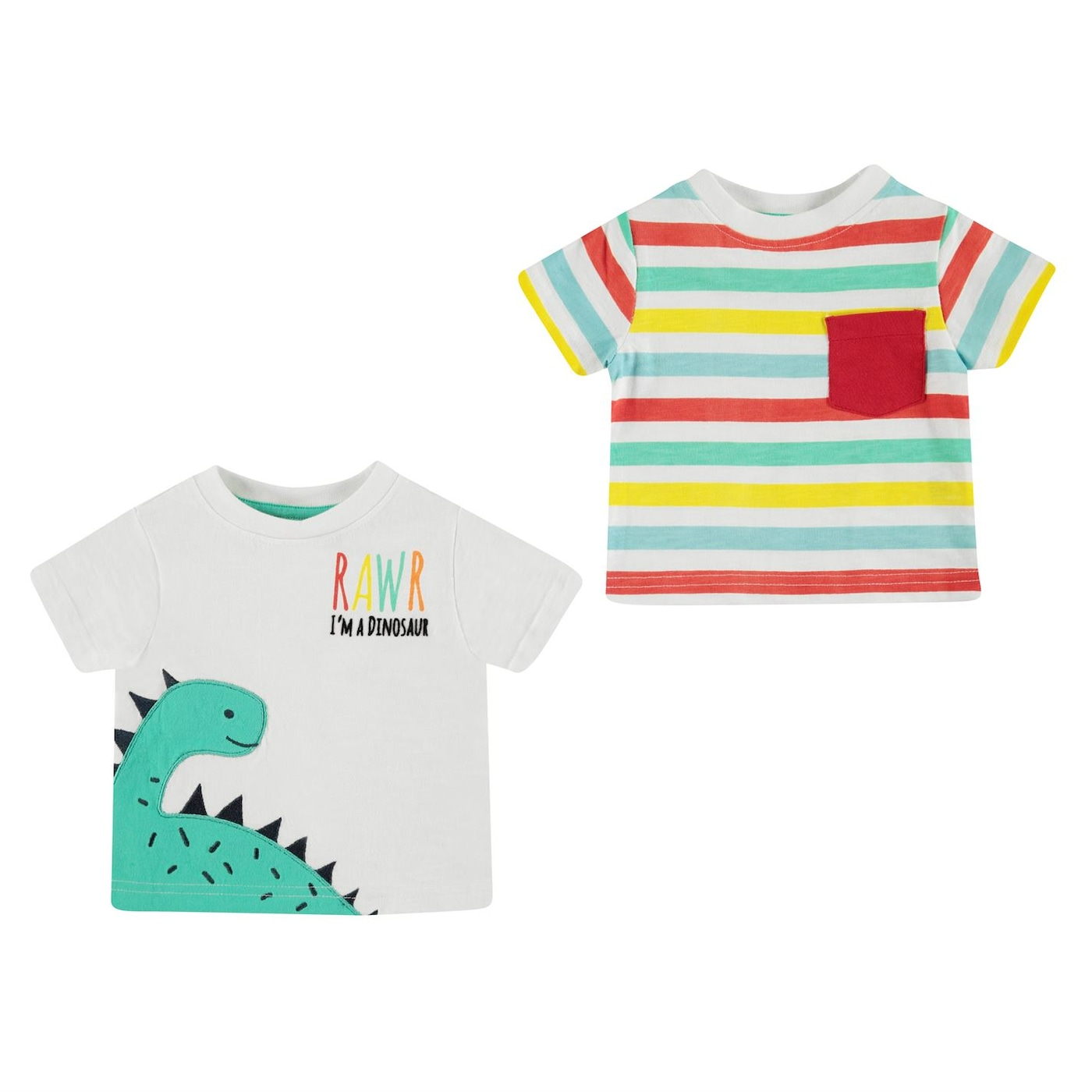 Crafted Essentials 2 Set T Shirts Baby Boys