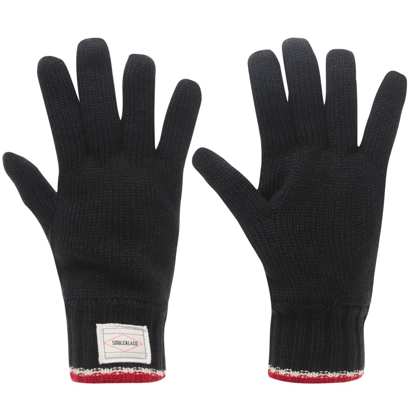 SoulCal Brand Gloves Mens