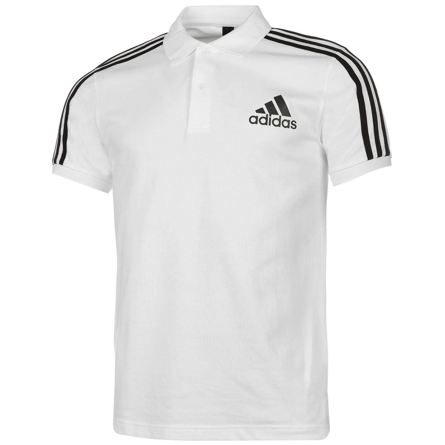 Men's polo Adidas 3 Stripes Logo