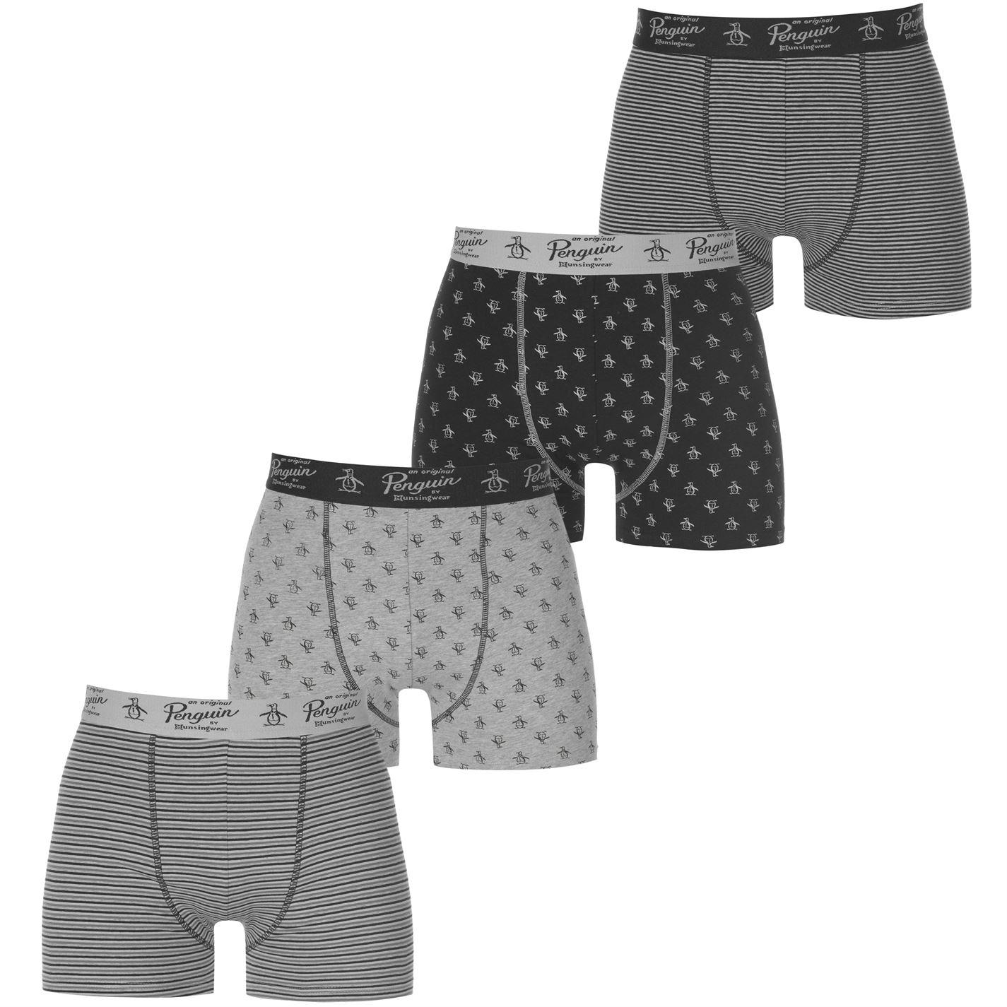 Penguin 4 Pack Boxer Shorts Mens