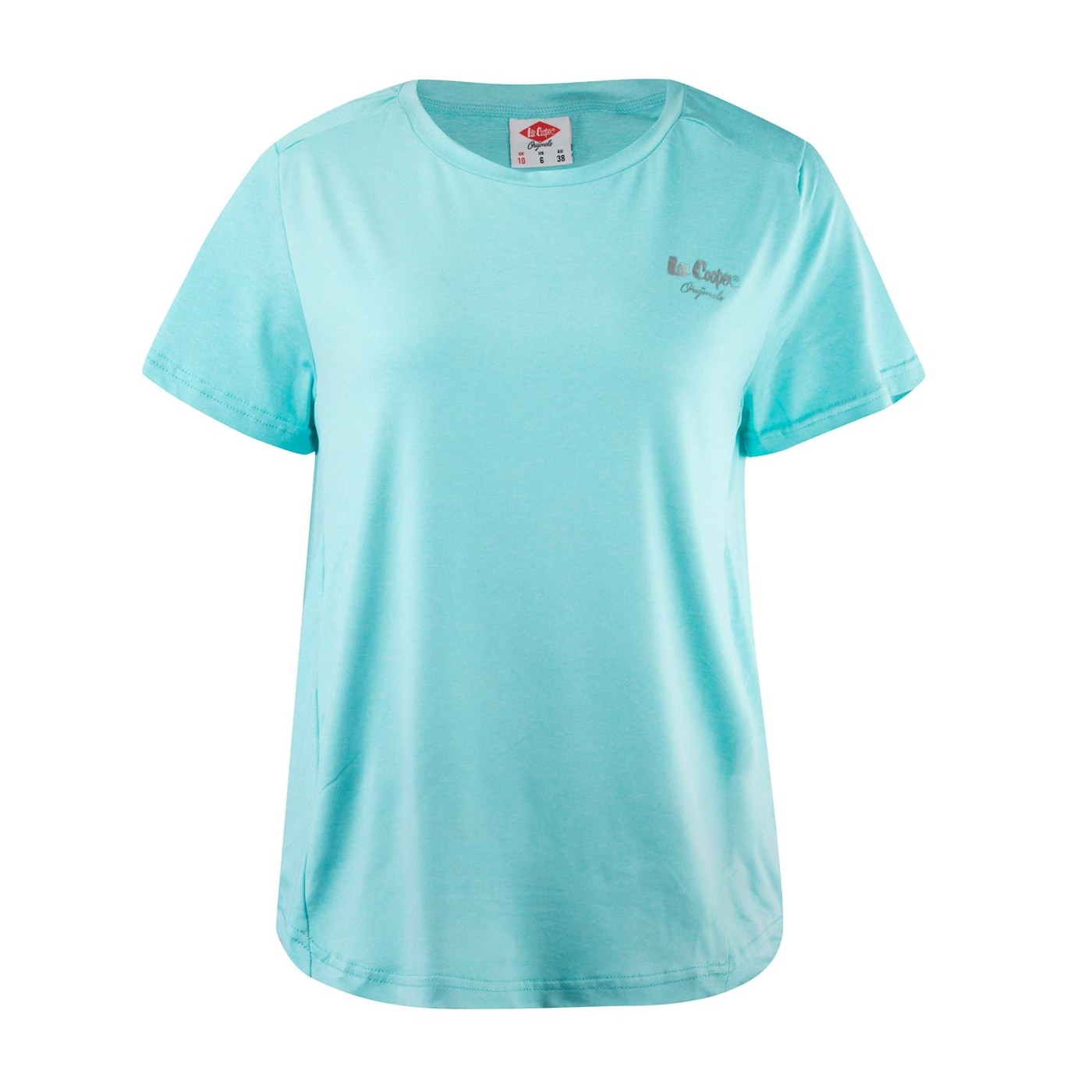 Lee Cooper Marl Stretch T Shirt Ladies