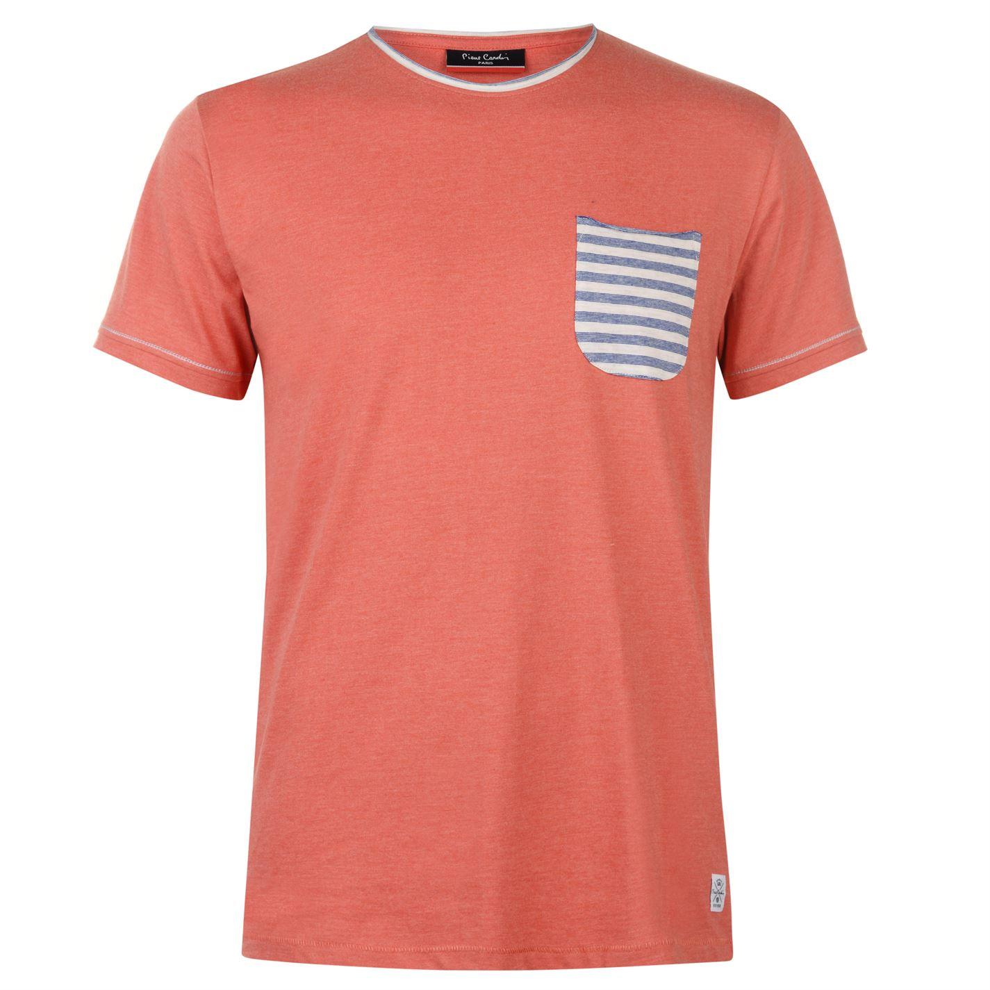 Triko Triko Pierre Cardin Stripe Pocket T Shirt pánske