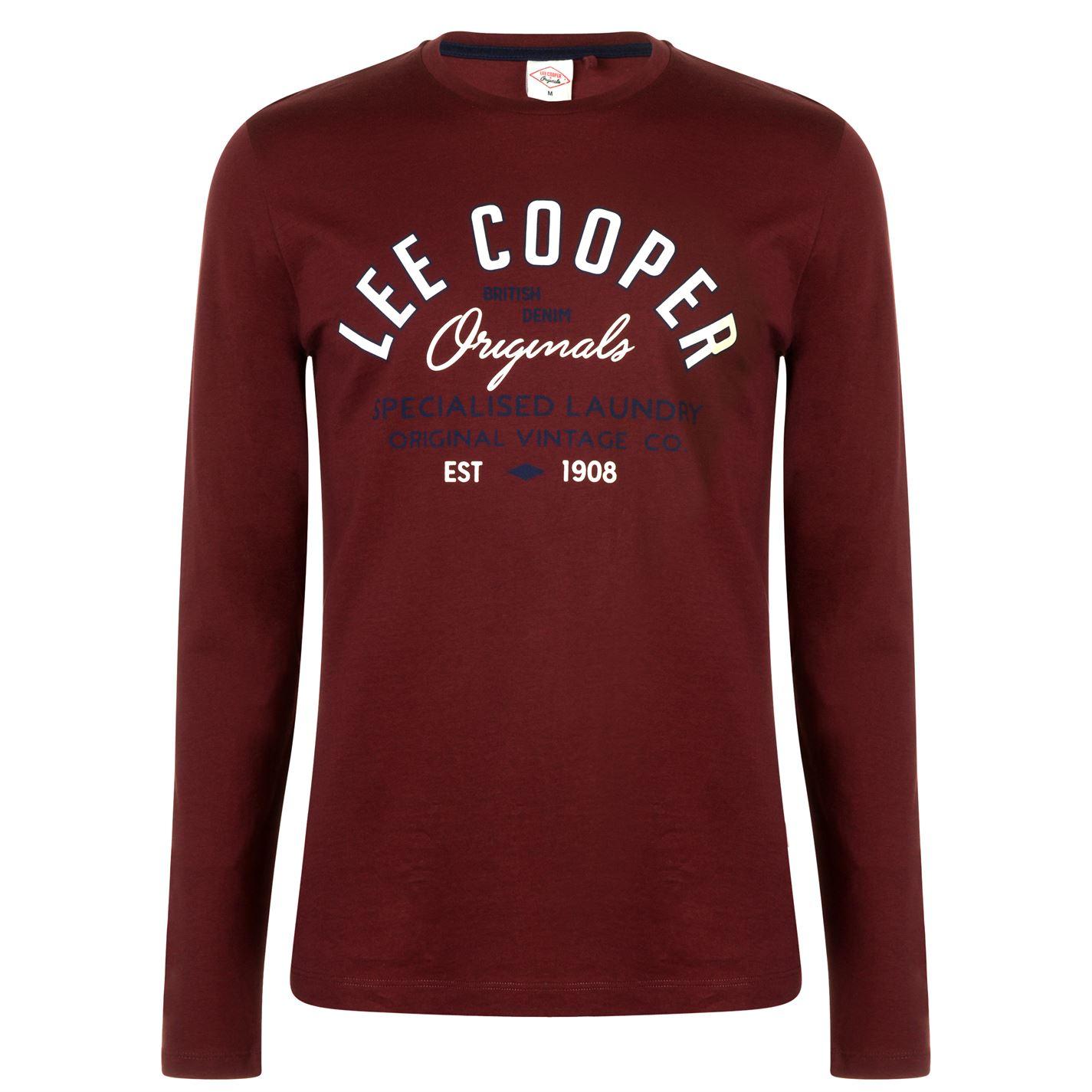 Lee Cooper Long Sleeve Vintage T Shirt