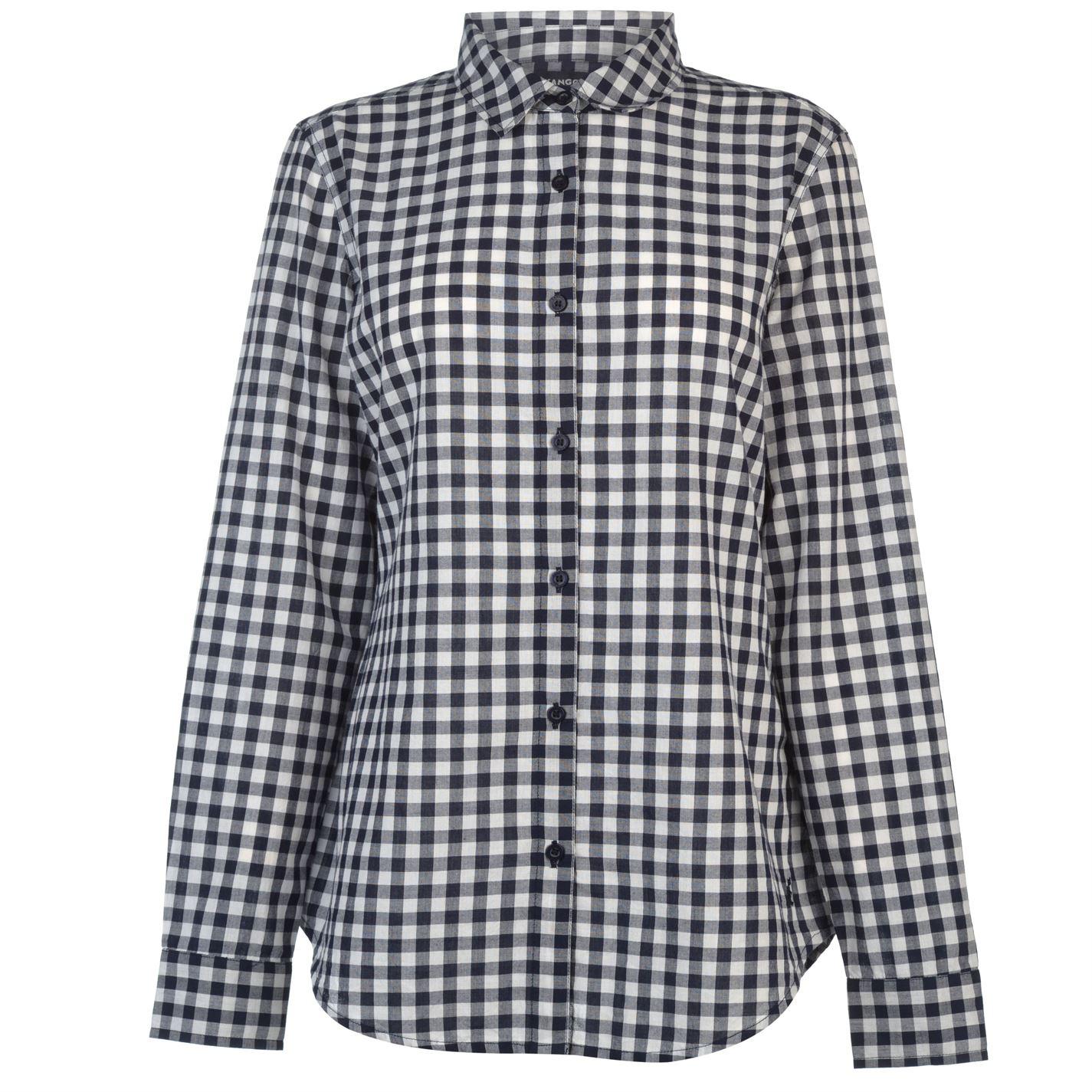 Kangol Long Sleeve Check Shirt dámske