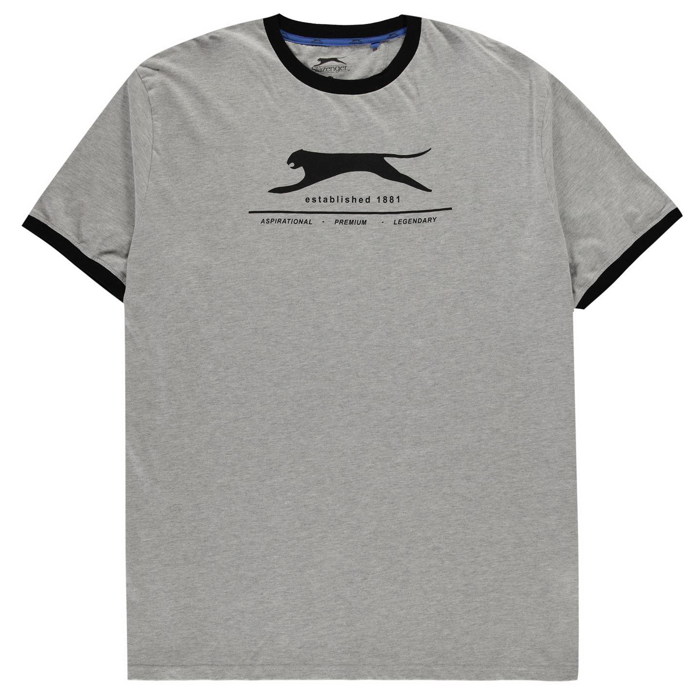 Slazenger XL Abel Ringer T Shirt Mens