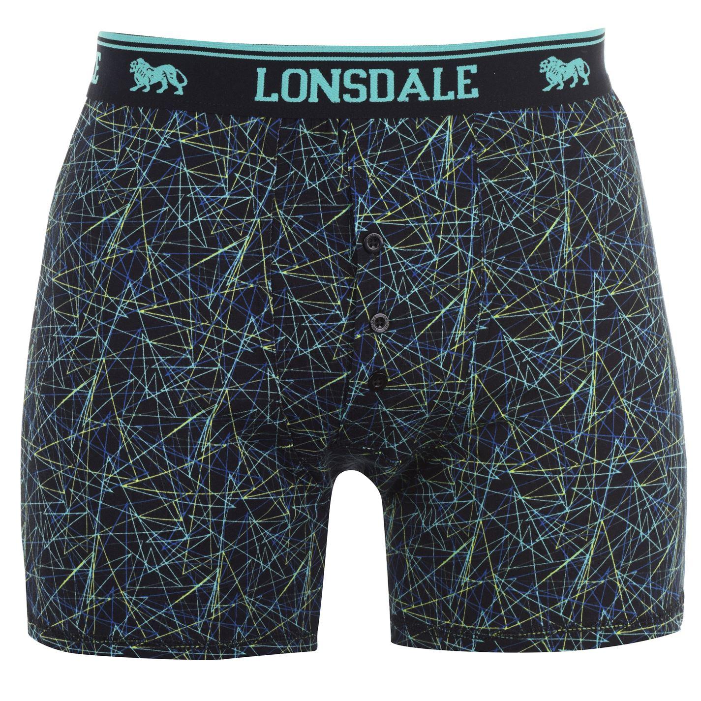 Lonsdale pánské boxerky 2 kusy