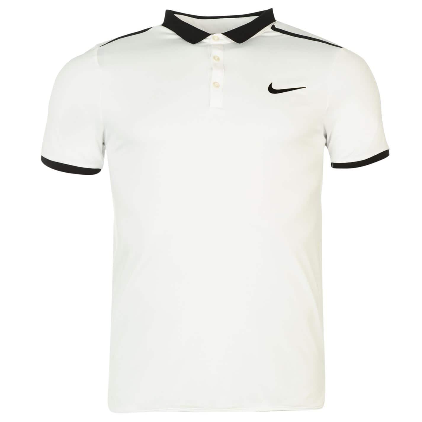 Nike Advanced Solid Tennis Polo Mens