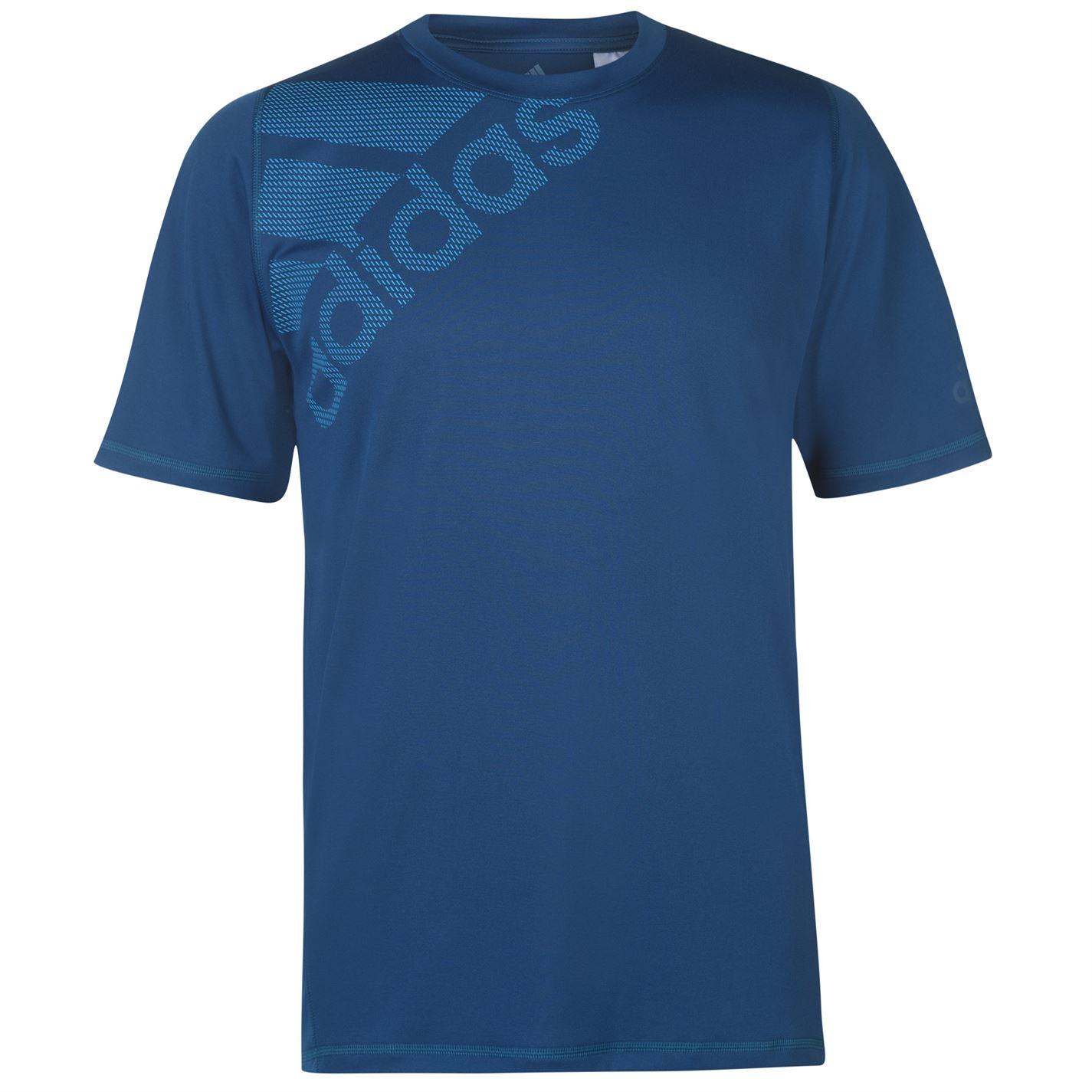 Adidas Freelift Badge Of Sport Training T Shirt Mens