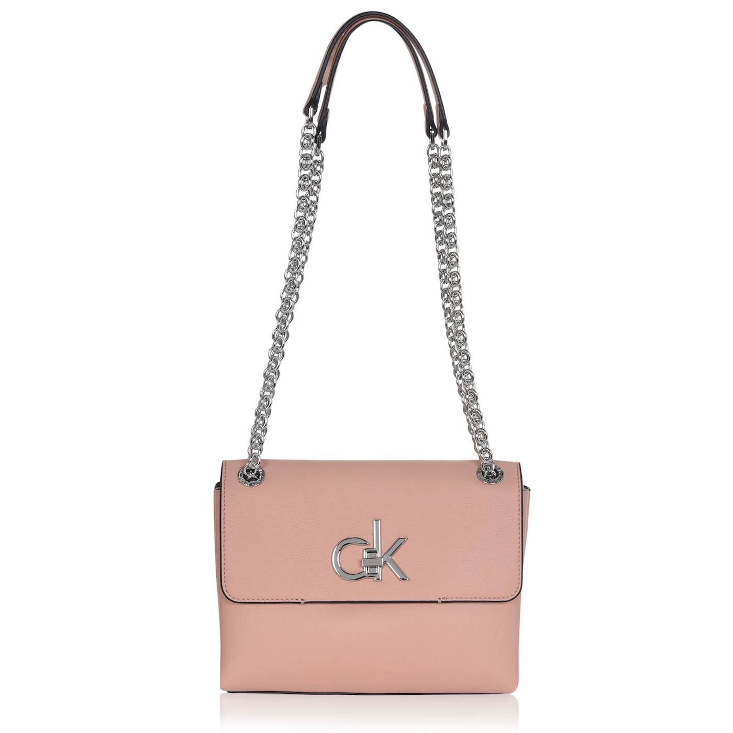 Calvin Klein Re Lock Flap Over Bag