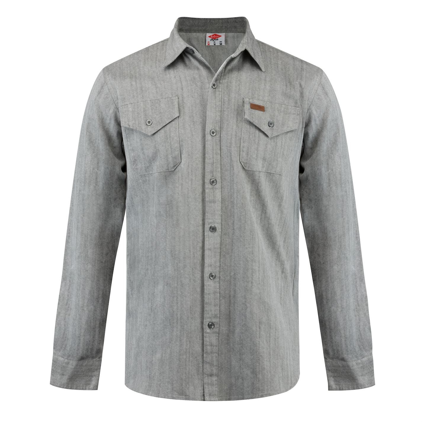 Lee Cooper Pocket Denim Shirt pánské